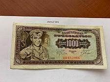 Buy Yugoslavia 1000 dinara circulated banknote 1963