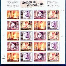 Buy US, Scott# 3665-3668, thirty-seven cent Women in Journalism sheet of 20 (0109)