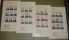 Buy US, Scott# 2216-2219, twenty-two cent Presidents set of 4 S/S (0113)