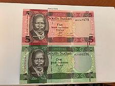 Buy Sudan lot of 2 uncirc. banknotes 2015