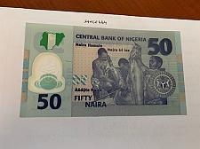 Buy Nigeria 50 naira uncirc. polymer banknote 2019