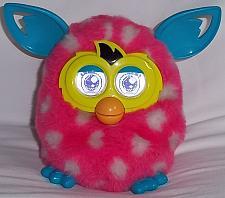 Buy Vintage 2012 Pink w/white Polka Dot Interactive 'Furby' Boom