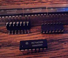 Buy Lot of 15: Motorola MC74AC08N