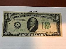 Buy United States Hamilton $10 circulated banknote 1934 D #4