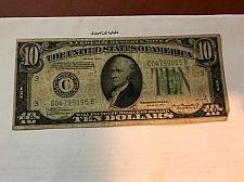 Buy United States Hamilton $10 circulated banknote 1934 A #6