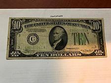 Buy United States Hamilton $10 circulated banknote 1934 A #9