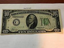Buy United States Hamilton $10 circulated banknote 1934 B #10