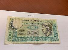 Buy Italy Mercurio 500 lira circulated banknote 1976 #1