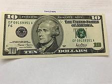 Buy United States Hamilton $10 uncirc. banknote 2001 #1