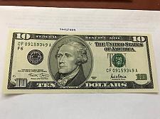 Buy United States Hamilton $10 uncirc. banknote 2001 #2