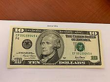 Buy United States Hamilton $10 uncirc. banknote 2001 #3