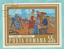 Buy [RO2445] Romania: Sc. no. 2445 (1973) Used