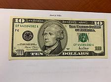 Buy United States Hamilton $10 uncirc. banknote 2001 #8