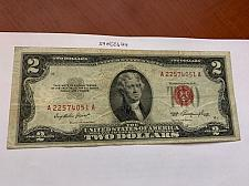 Buy United States Jefferson $2 red circulated banknote 1953