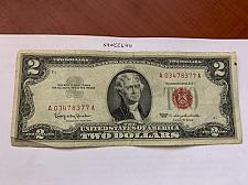 Buy United States Jefferson $2 red circulated banknote 1963
