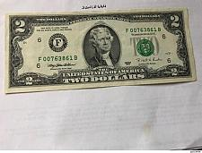 Buy United States Jefferson $2 circulated banknote 1995 #2