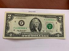 Buy United States Jefferson $2 circulated banknote 2003 #2