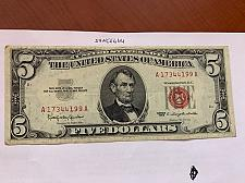 Buy United States Lincoln $5 red circulated banknote 1963 #7