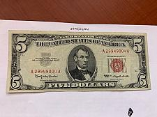 Buy United States Lincoln $5 red circulated banknote 1963 #6