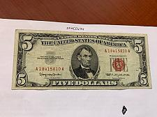 Buy United States Lincoln $5 red circulated banknote 1963 #2