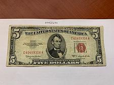Buy United States Lincoln $5 red circulated banknote 1953 #1