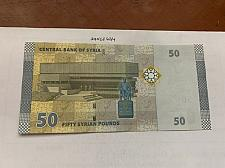 Buy Syria 50 pounds uncirc. banknote 2009 #2