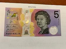 Buy Australia $5 uncirc. polymer banknote 2016 #2