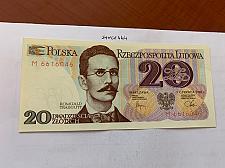 Buy Poland 20 zlotych uncirc. banknote 1982