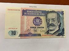 Buy Peru 10 intis uncirc. banknote 1987 #2