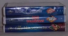 "Buy 3 Black Diamond ""The Classics"" Walt Disney VHS Tapes"