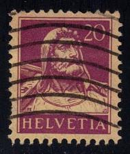 Buy Switzerland #174 William Tell; Used (0.75) (2Stars)  SWI0174-01