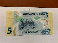 Buy Solomon Islands 5 dollars uncirc. polymer banknote 2019