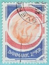 Buy [DE0732] Denmark Sc. no. 732 (1983) Used Single