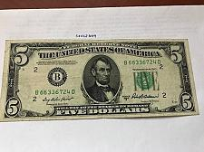 Buy United States Lincoln $5 circulated banknote 1950 #1