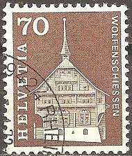 Buy [SW0446] Switzerland: Sc. No. 446 (1964-1968) Used