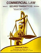 Buy COMMERCIAL LAW : Secured Transactions :Casebook Outline :: FREE Shipping