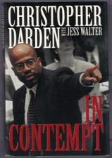 Buy IN CONTEMPT :: Christopher Darden 1996 HB w/ DJ :: FREE Shipping
