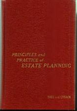 Buy PRINCIPLES and PRACTICE of ESTATE PLANNING HB :: FREE Shipping
