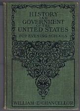 Buy HISTORY & GOVERNMENT of the UNITED STATES :: 1905 HB