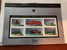 Buy Canada Commercial vehicles m/s mnh 1996 stamps