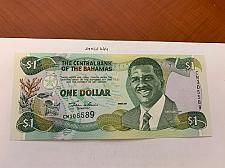 Buy Bahamas 1 dollar uncirc. banknote 2001