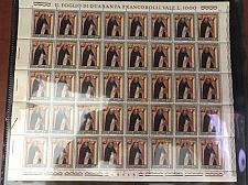 Buy Vatican City Saint Dominicus of Guzman sheets mnh 1971 stamps