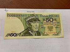 Buy Poland 50 zlotych uncirc. banknote 1986