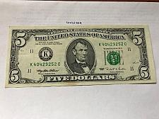Buy United States Lincoln $5 uncirc. banknote 1995 #3