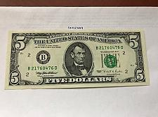 Buy United States Lincoln $5 uncirc. banknote 1995 #4