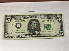 Buy United States Lincoln $5 uncirc. banknote 1995 #6