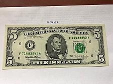 Buy United States Lincoln $5 uncirc. banknote 1995 #10