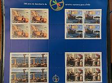 Buy Portugal Vasco de Gama 2 sheets mnh 1997 stamps