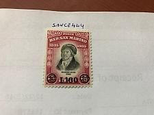 Buy San Marino Stamp Delfico overp. mnh 1948 stamps