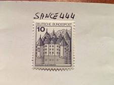 Buy Germany Definitives Castles 10p top imperf. mnh 1977 stamps